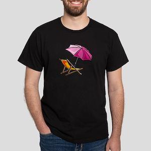 BEACH CHAIR [3] Dark T-Shirt